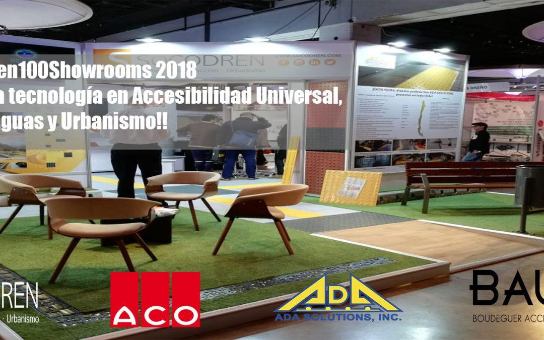 ¡Socodren SpA presente en 100Showrooms 2018!