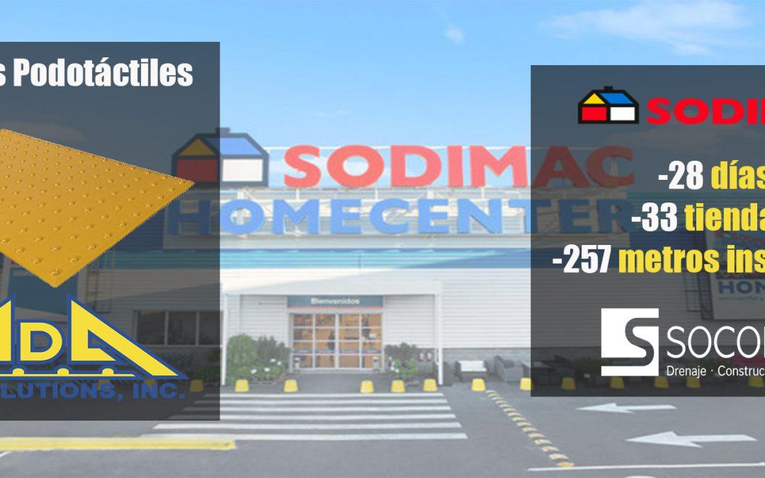 ADA Solutions en SODIMAC: ¡Tiempo record de instalación en 33 tiendas!