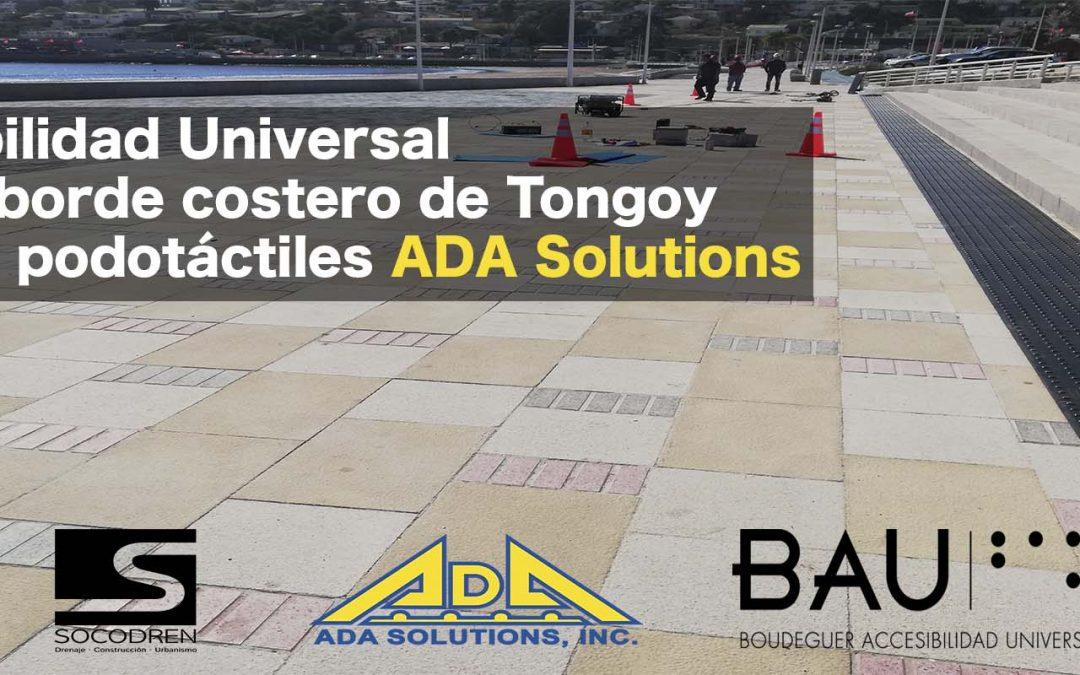 ¡Paneles ADA Solutions en borde costero de Tongoy!
