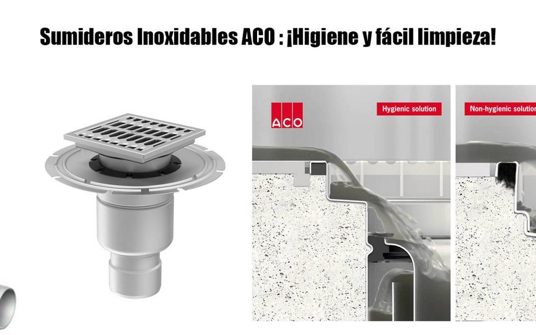 Sumideros Inoxidables ACO: ¡Higiene, fácil limpieza y diseño!