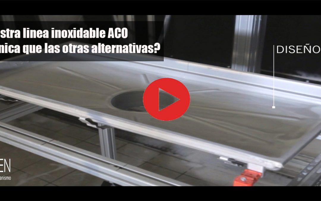 ¿Sabes por qué nuestros canales inoxidables ACO son 100% higiénicos?