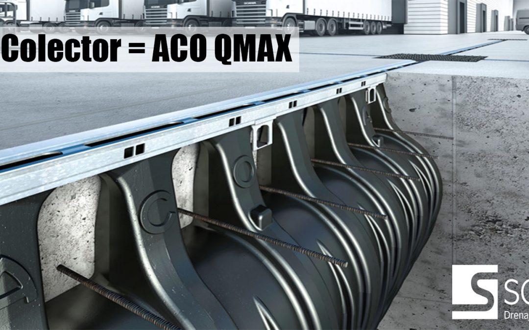 ACO QMAX: ¡Un canal que también es colector!