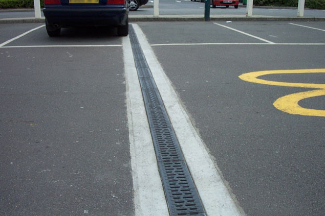 parking drainage 2